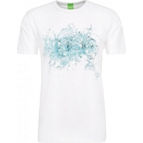 Boss Green Tee 8 T-Shirt in White