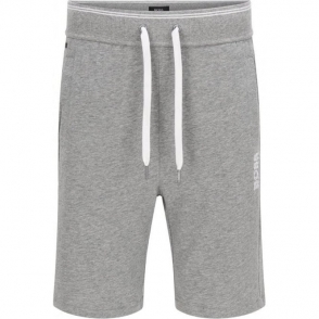 Boss Black Short Pant Loungewear in Grey