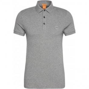 Boss Orange Pavlik Polo Shirt in Grey