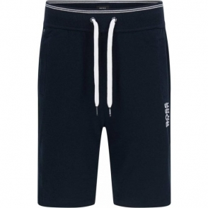 Boss Black Short Pant Loungewear in Navy