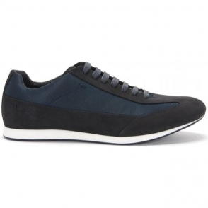 Boss Black Fulltime Trainers in Dark Blue