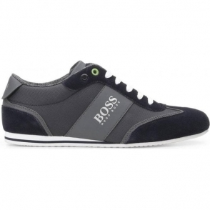Boss Green Lighter Low Trainers in Dark Blue