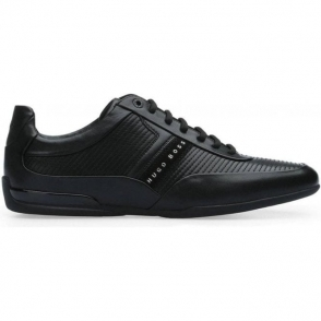 Boss Green Space Trainers in Black