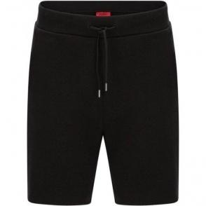 Hugo Dibbons Sweat Shorts in Black