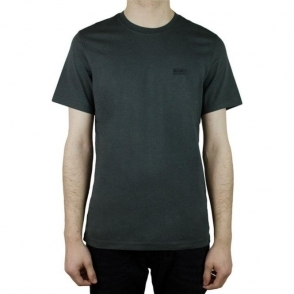 Barbour International Logo T-Shirt in Charcoal