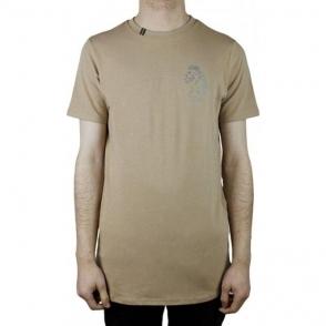Luke Roper Bowen T-Shirt in Beige