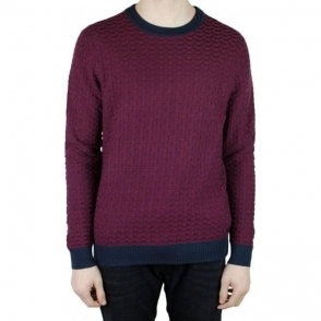 Boss Orange Kuvudo Knitwear in Purple