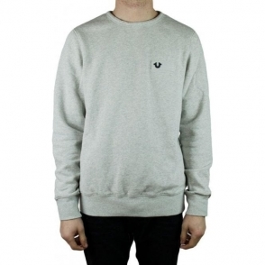 True Religion Metal Horse Sweatshirt in Grey
