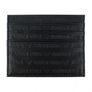 Armani Jeans Cardholder Wallet in Black