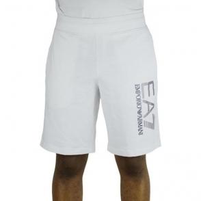Ea7 Bermuda Shorts in White
