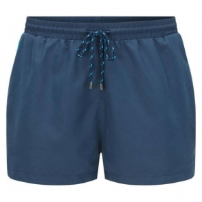 Boss Black Mooneye Swim Shorts in Navy