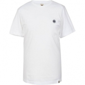Pretty Green SS Crew Neck T-Shirt in White