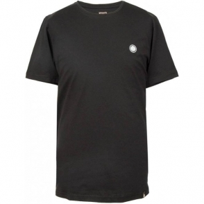 Pretty Green SS Crew Neck T-Shirt in Black