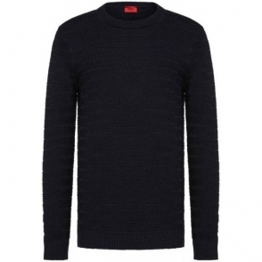 Hugo Soleron Sweatshirt in Navy