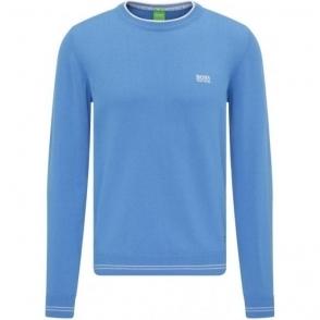 Boss Green Rime_S17 Knitwear in Blue