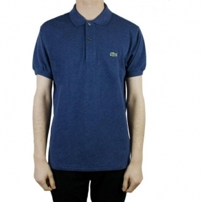Lacoste Classic Logo Polo Shirt in Navy