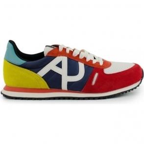 Armani Jeans AJ Multicoloured Trainers in Multi Colour
