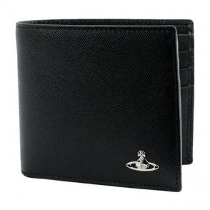 Vivienne Westwood Black Wallet in Black