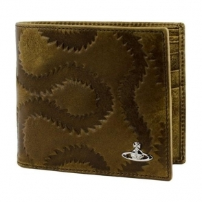 Vivienne Westwood Squiggle Wallet in Brown