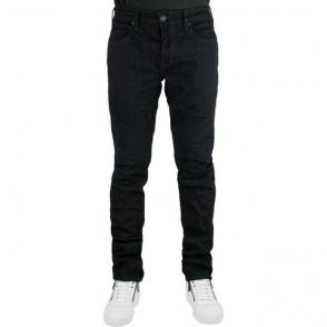 True Religion Rocco Moto Jeans in Black