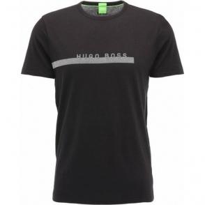 Boss Green M-Tee T-Shirt in Black