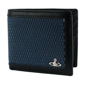 Vivienne Westwood Cross Wallet in Blue