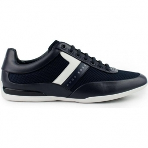 Boss Green Space_Lowp Trainers in Dark Blue