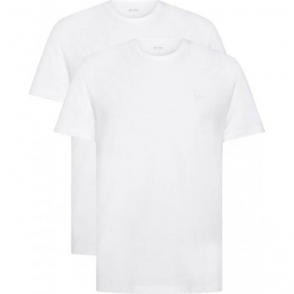 Boss Black Tee RN 2P T-Shirts in White