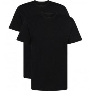 Boss Black Tee RN 2P T-Shirts in Black