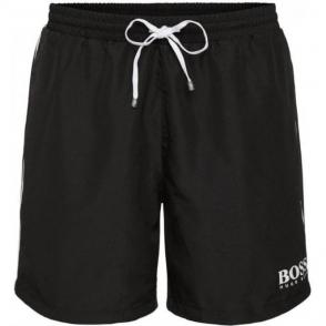 Boss Black Starfish Swim Shorts in Black