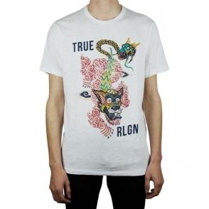 True Religion Guardian T-Shirt in White