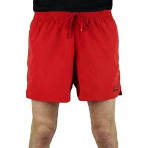 Ea7 Seaworld 3 Swim Shorts in Red