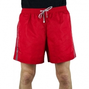 Ea7 Seaworld 2 Swim Shorts in Red