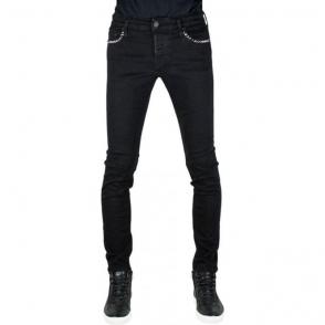 True Religion Tony Stud Jeans in Black