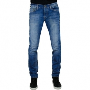 True Religion Rocco Denim Jeans in Dark Blue