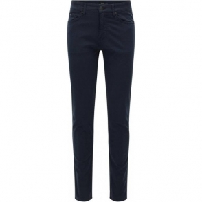 "Boss Black Delaware 3-20 34"" Long Leg Jeans in Navy"