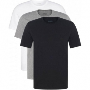 Boss Black 3 Pack T-Shirts in Mix
