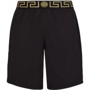 Versus Versace Beach Swim Shorts in Black