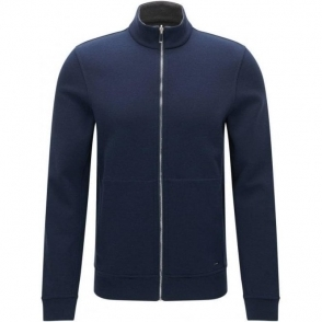 Boss Black Scavo 03 Knitwear in Navy