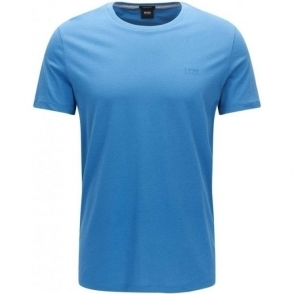 Boss Black Tiburt 33 T-Shirt in Open Blue