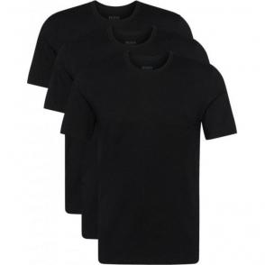 Boss Black Tee 3 Pack T-Shirts in Black
