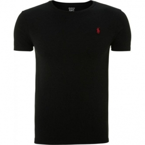 Ralph Lauren Polo T-Shirt Logo Tee in Black