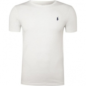 Ralph Lauren Polo T-Shirt Logo Tee in White