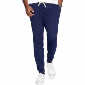 Ralph Lauren Polo Cuffed Jogging Bottoms in Navy