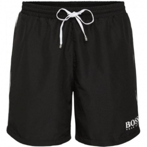 Boss Black Starfish BM Swim Shorts in Black