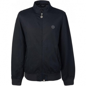 Pretty Green Harrington Jacket in Black
