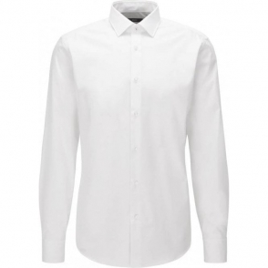 Boss Black Gerton Formal Shirt in White