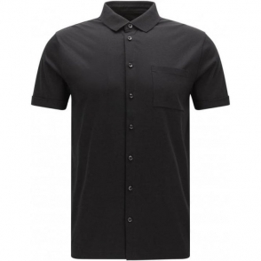 Boss Black Puno 04 Polo Shirt in Black