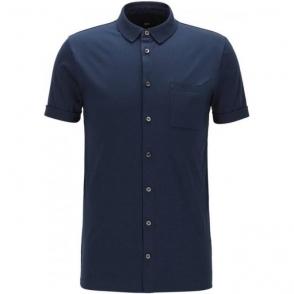 Boss Black Puno 04 Polo Shirt in Navy