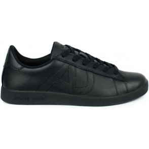 Armani Jeans AJ Core Kick Trainers in Black